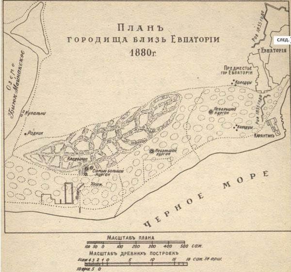 1880-карта евпатории