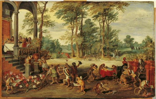 Ян Брейгель Младший. Тюльпаномания. Ок. 1640
