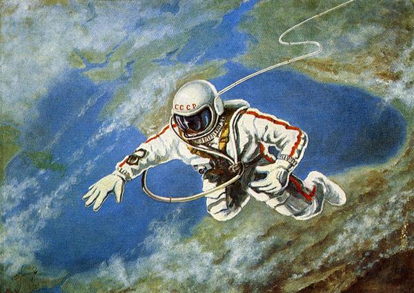 18 марта 1965 года космонавт Алексей Леонов-