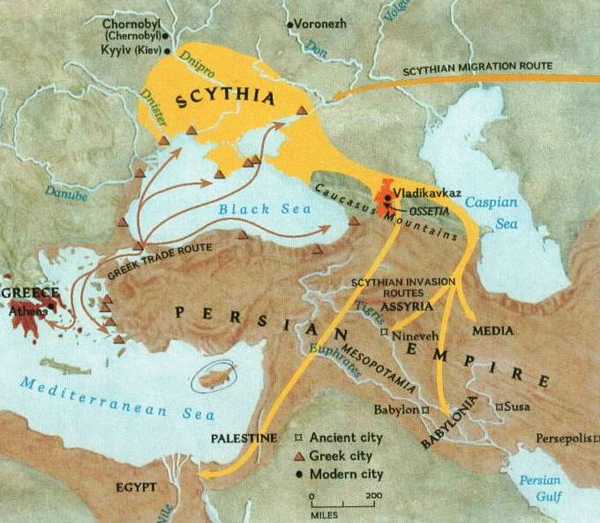 Геррос-карта-scythians_map