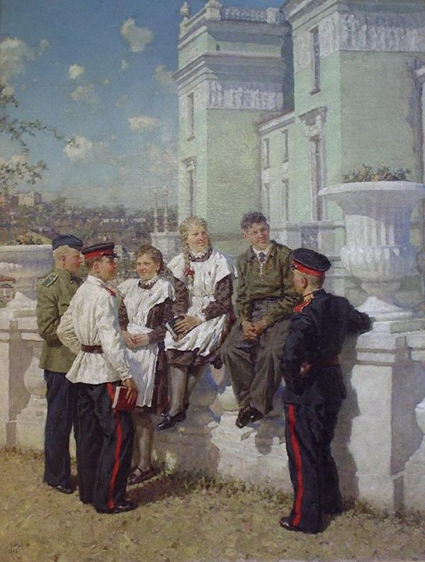 Юность- Виктор Зинов- 1950