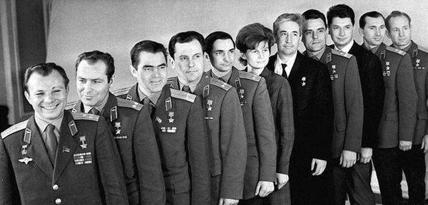 гагарин и все космонавты