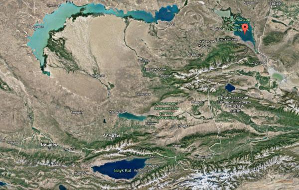 озеро ала-куль