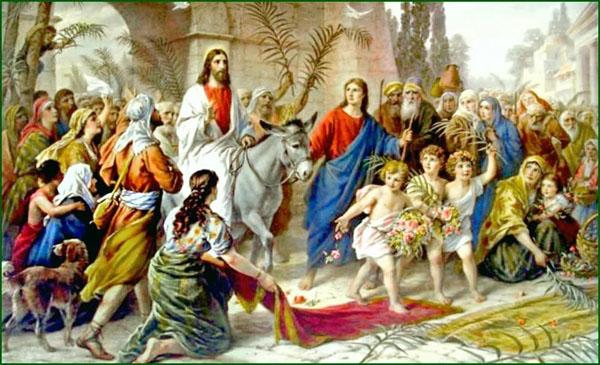 01-Вход Господень в Иерусалим