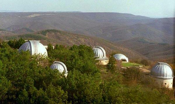01-Крымская астрофизическая обсерватория, построенная в 1945 году
