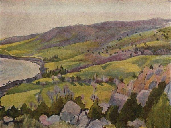 Весна в Крыму, Зинаида Серебрякова, 1914