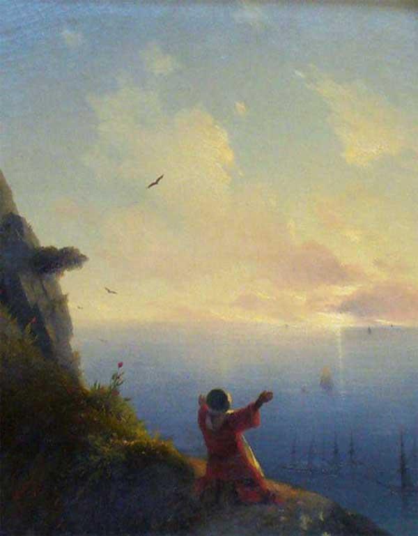 «Встреча солнца. Море», 1849. Айвазовский Иван (1817-1900)