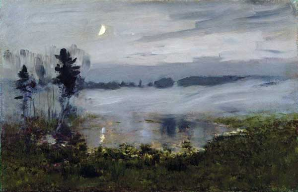 «Туман над водой», 1890-е. Левитан Исаак (1860-1900)
