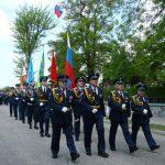 Военный парад в Евпатории 9 мая