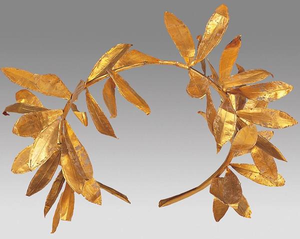 Македонии золотой олив, 4-й век до н. э.
