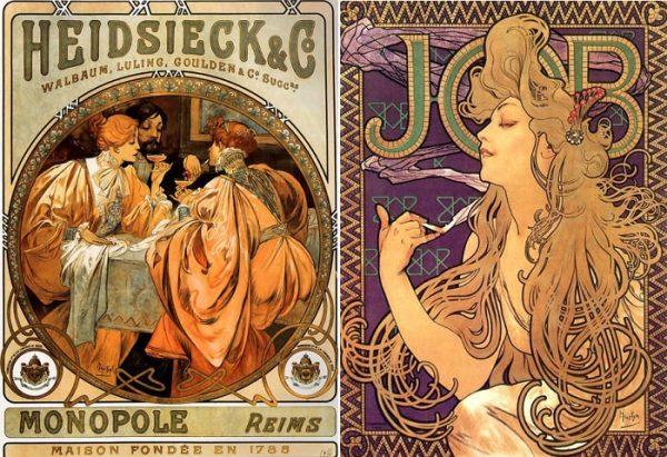 Реклама товаров, Альфонс Муха-1901-