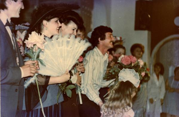 поклоны после спектакля «Какое счастье!» по А.Чехову, реж. О.Пермяков
