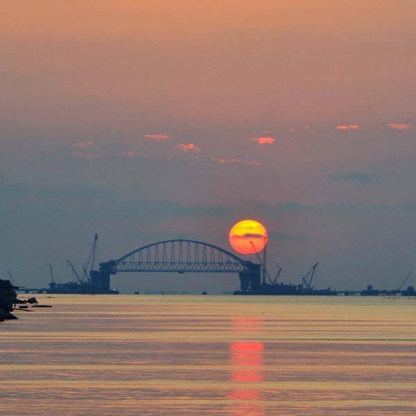 0Керченский мост.