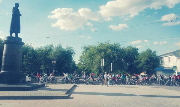 0 велопарад в Евпатории
