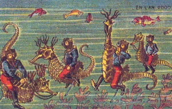 Дайверы верхом на морских коньках