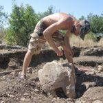 В античном комплексе в Крыму найдена каменная баба