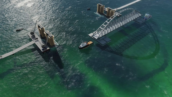 01-судоходная арка моста