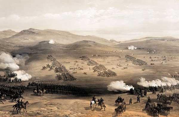 0-атака-Балаклавское сражение, Крымская война, атака лёгкой кавалерии