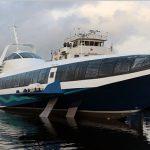 Спущена на воду первая «Комета 120М» на подводных крыльях для Крыма