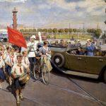 "Рекламные плакаты ""Интурист"" 30-х годов 20 века"