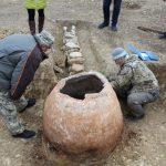 В селе Жемчужина Крыма нашли средневековый тандыр