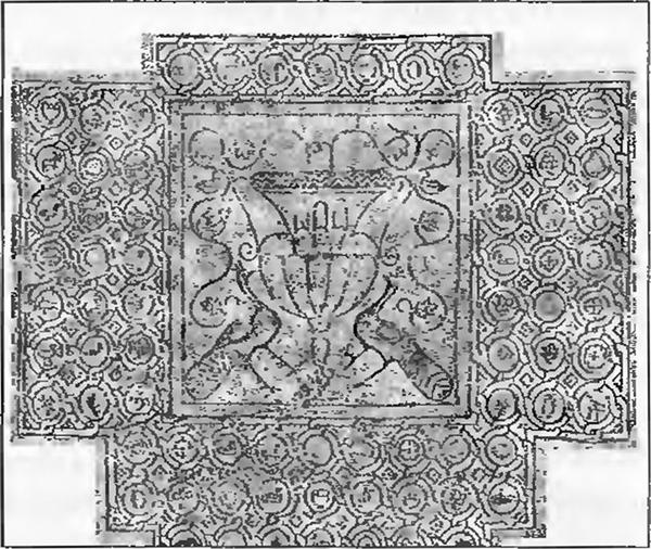 0-Мозаичный пол храма Богородицы Влахернской