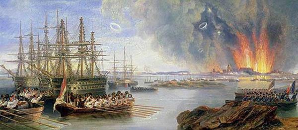 Бомбардировка Севастополя. 1855 год