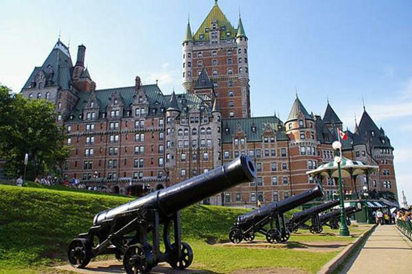 Севастопольские пушки в Квебеке