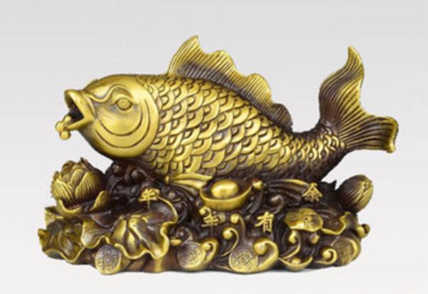 0-Китай-бронза-рыбы-годовых-