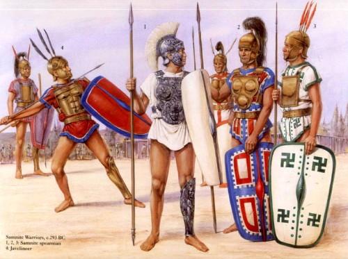 Ранняя римская армия (700 - 280 гг. до н.э.)06