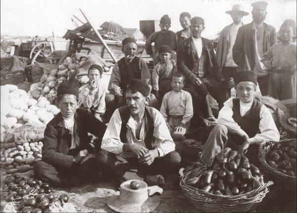 Катлык базар-татарские торговцы