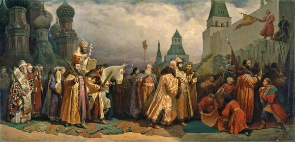 0-Вячеслав Шварц. «Вербное воскресение в Москве