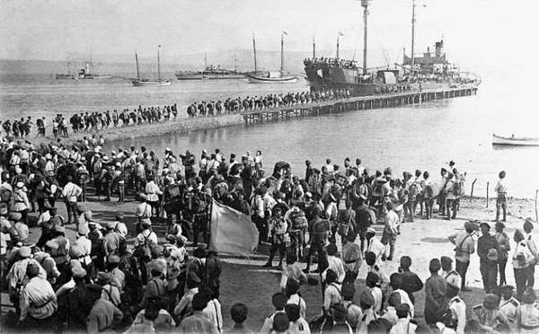 Крым, осень 1917 года