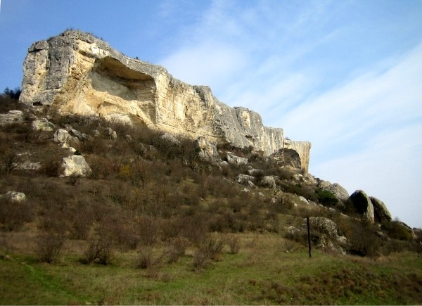 Пещерный город Качи-кальон. -