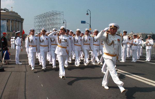 0-Репетиция парада в честь Дня ВМФ
