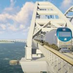 По Крымскому мосту пройдут 30 пар поездов в сутки