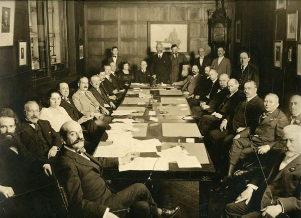 Совещание руководства «Джойнта», 16 августа 1918 года