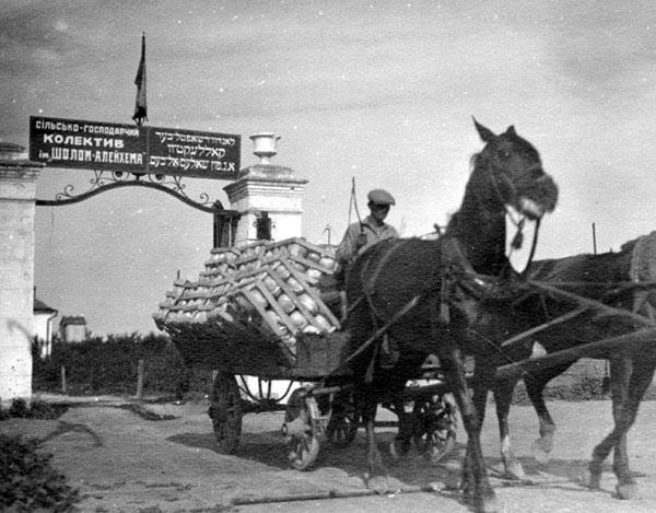 1918-шалом- сделать из евреев крестьян