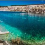 Марсианское озеро в Крыму