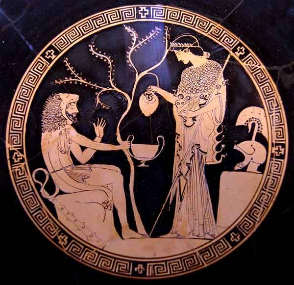 Афина и Геракл-athena_herakles_этрус. гор. Вульчи-