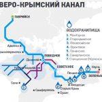 Севро-Крымский канала достроят до Феодосии и Керчи.