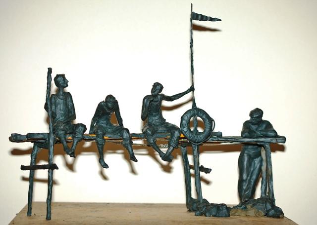 Памятник Борису Балтеру и героям книги