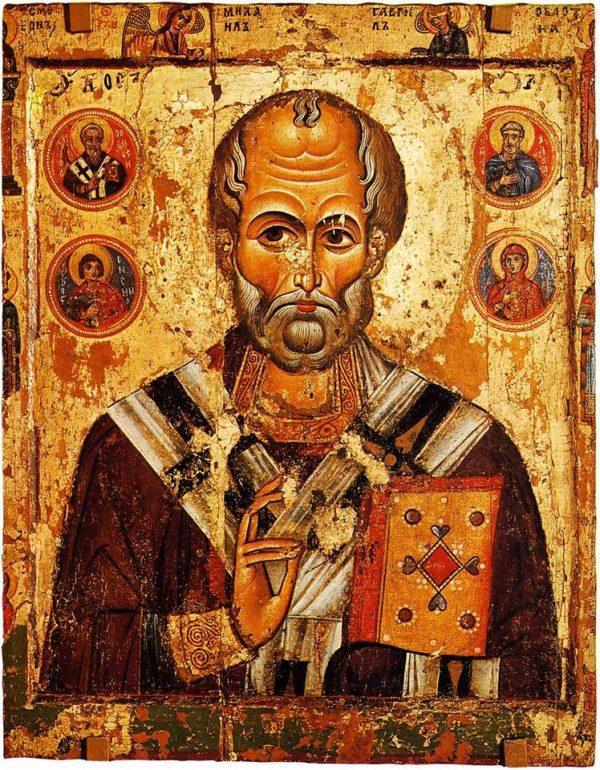 Николай Чудотворец. XIII век.