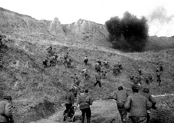 Штурм высот на подступах к Керчи, ноябрь 1943 года