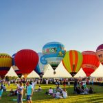 Фестиваль воздушных шаров «Крымская Весна»  в Феодосии