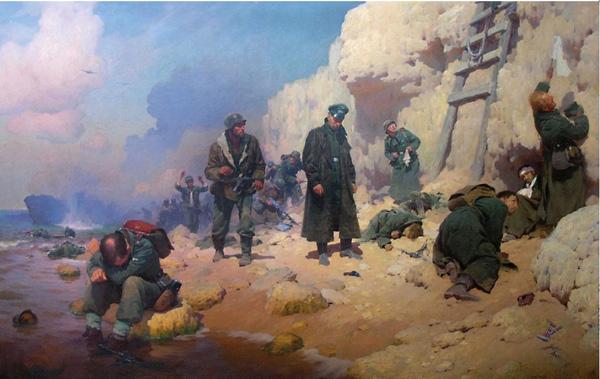 Юрий Волков. Расплата. 1956.
