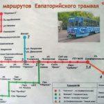 Как реконструируют трамвайную линию в Евпатории