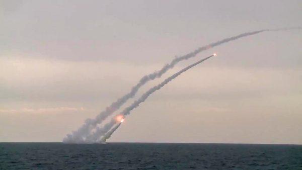 00=Пуск из подводного положения крылатых ракет-калибр