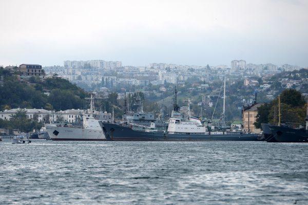 00-Боевые корабли флота РФ в Севастопольской бухте