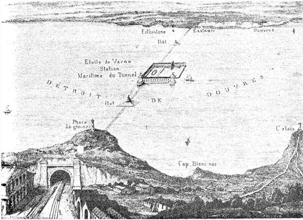 1856 год тоннель под Ла-Маншем